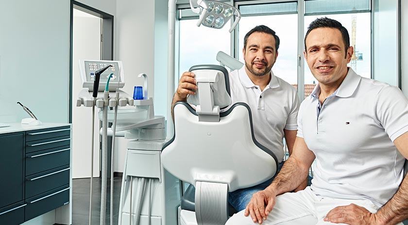 Gemeinschaftspraxis Zahnmedizin Behandlungsraum-Ärzte