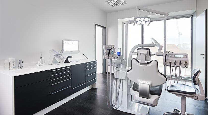 Gemeinschaftspraxis Zahnmedizin Behandlungsraum